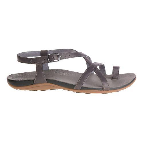 Womens Chaco Dorra Sandals Shoe - Nickel 10
