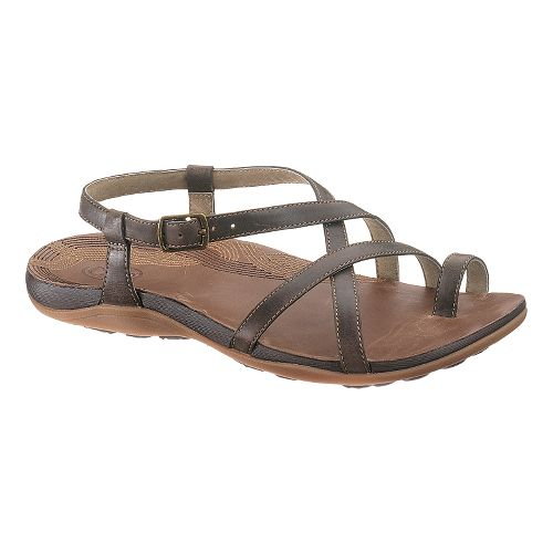 Womens Chaco Dorra Sandals Shoe - Dark Earth 9