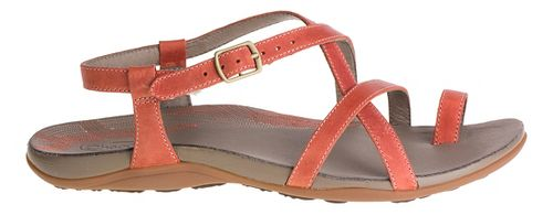 Womens Chaco Dorra Sandals Shoe - Flamingo 9