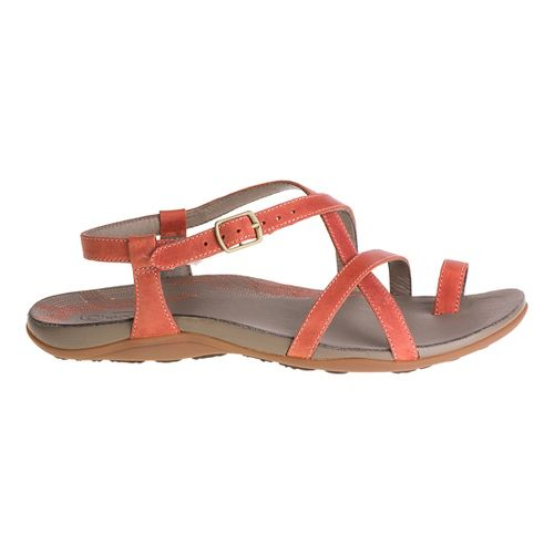 Womens Chaco Dorra Sandals Shoe - Flamingo 12