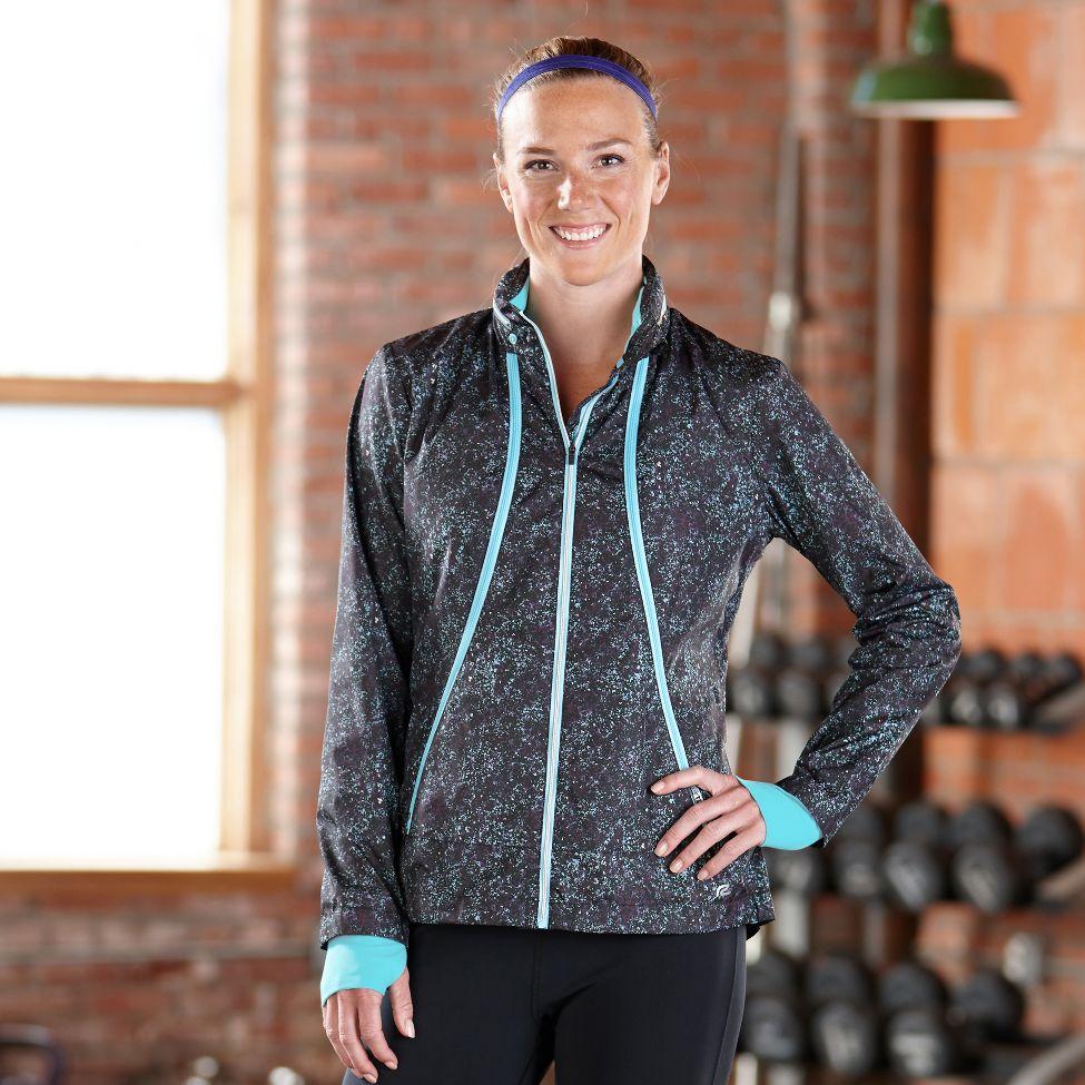 Road Runner Sports Zip To It Printed Lightweight Jacket