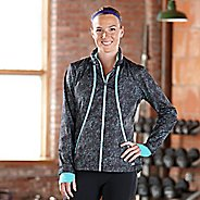 Womens Road Runner Sports Zip To It Printed Lightweight Jacket