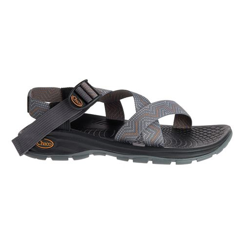 Mens Chaco Z/Volv Sandals Shoe - Lead Grey 9