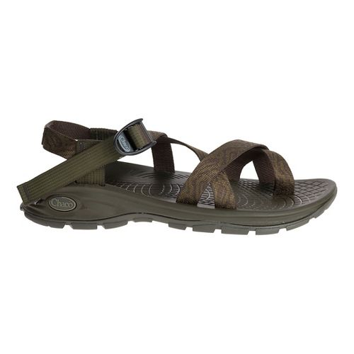 Mens Chaco Z/Volv 2 Sandals Shoe - Mandarin Forest 14