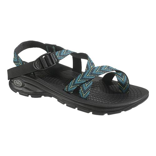 Mens Chaco Z/Volve 2 Sandals Shoe - Green Flow 10