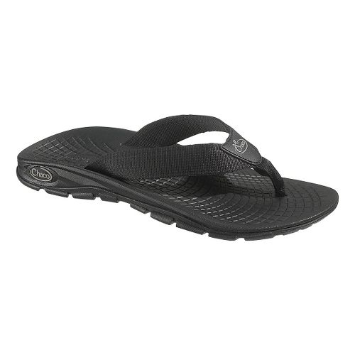 Mens Chaco Z/Volv Flip Sandals Shoe - Black 9