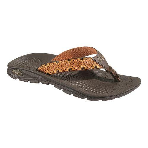 Mens Chaco Z/Volv Flip Sandals Shoe - Badge 8