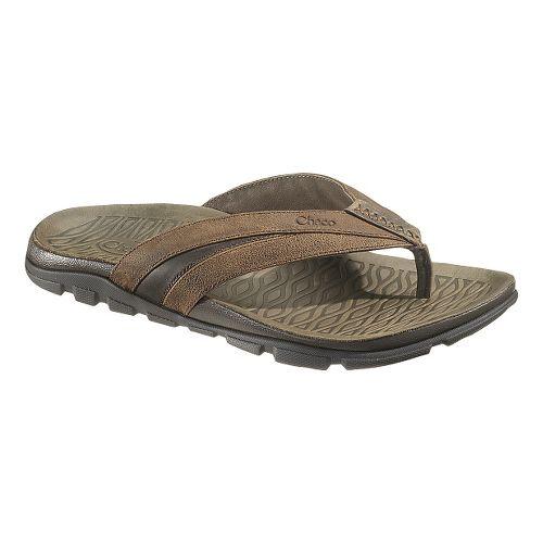 Mens Chaco Cabrera Sandals Shoe - Otter 15