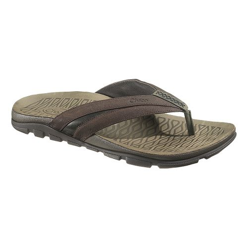 Mens Chaco Cabrera Sandals Shoe - Chocolate Torte 7