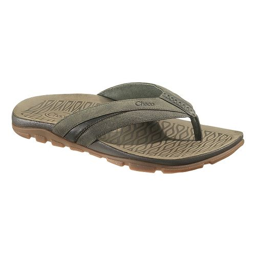 Mens Chaco Cabrera Sandals Shoe - Grape Leaf 7