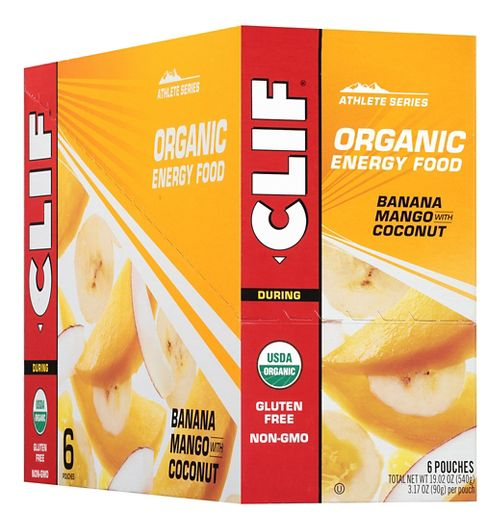 Clif Organic Sweet Energy Food 6 count Gels - null