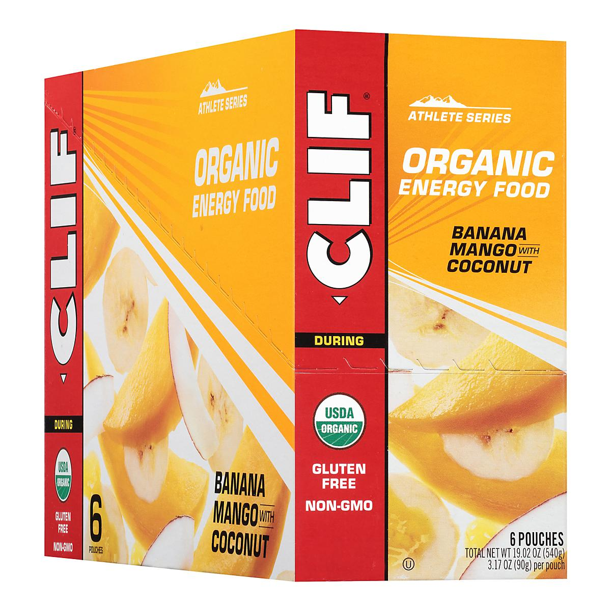 Clif�Organic Sweet Energy Food 6 count