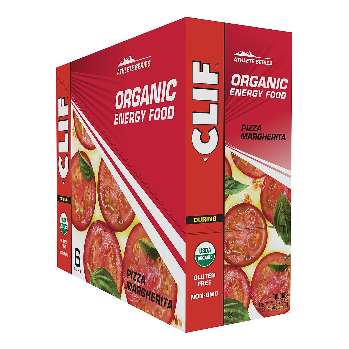 Clif�Organic Savory Energy Food 6 count
