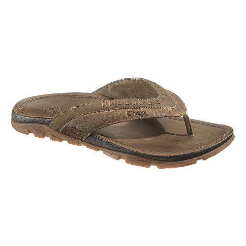 Mens Chaco Finn Sandals Shoe - Dark Earth 8