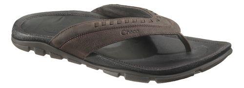 Mens Chaco Finn Sandals Shoe - Chocolate Torte 14