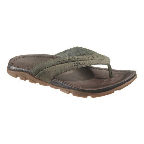 Mens Chaco Finn Sandals Shoe - Grape Leaf 8