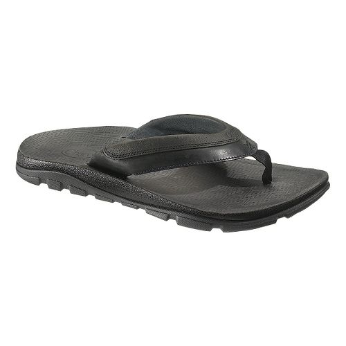 Mens Chaco Kirkwood Sandals Shoe - Black 14