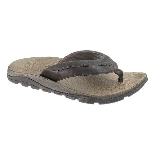 Mens Chaco Kirkwood Sandals Shoe - Chocolate Torte 11