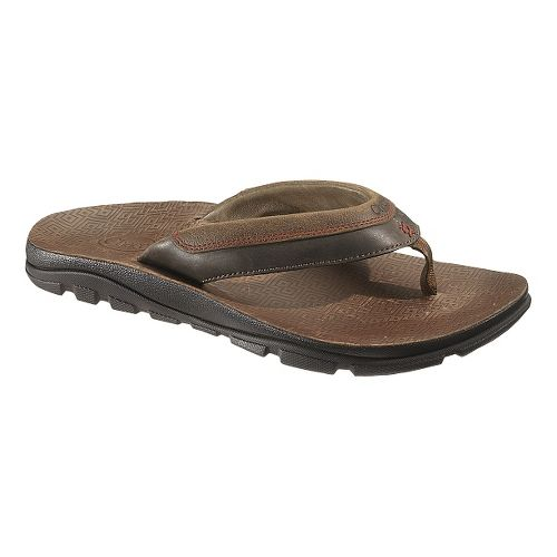 Mens Chaco Kirkwood Sandals Shoe - Dark Earth 12