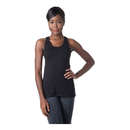 Womens Tasc Performance Core Racer Sleeveless & Tank Technical Tops - Black L