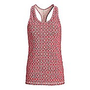 Womens Tasc Performance Core Racer Printed Sleeveless & Tank Technical Tops