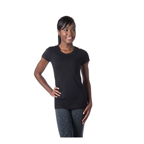 Womens Tasc Performance 365 Crew Short Sleeve Technical Tops - Black M