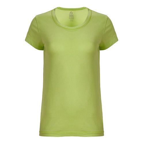 Womens Tasc Performance 365 Crew Short Sleeve Technical Tops - Limeade XL