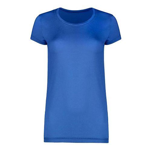 Womens Tasc Performance 365 Crew Short Sleeve Technical Tops - Dory Blue S