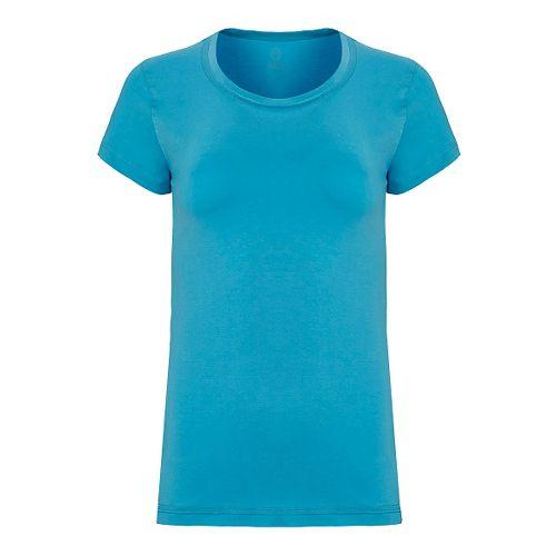Womens Tasc Performance 365 Crew Short Sleeve Technical Tops - Scuba M