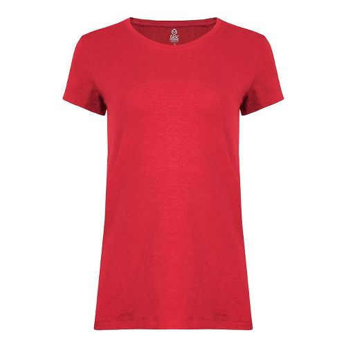 Womens Tasc Performance 365 Crew Short Sleeve Technical Tops - Red Hot M