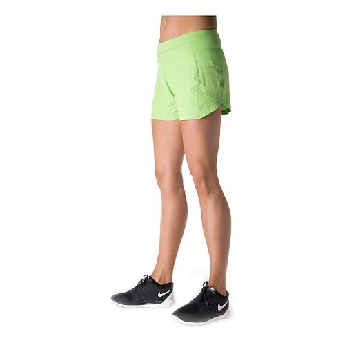 Womens Tasc Performance Verve Unlined Shorts - Green Flash M