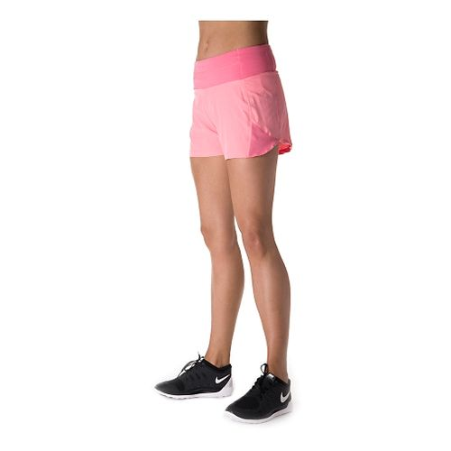Womens Tasc Performance Verve Unlined Shorts - Conch/Ash XL