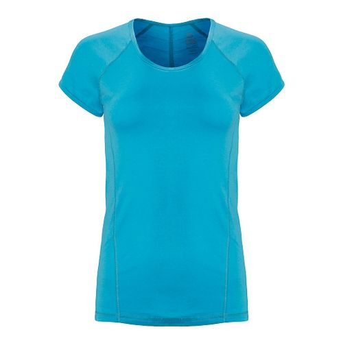 Womens Tasc Performance Victory Crew Short Sleeve Technical Tops - Scuba L