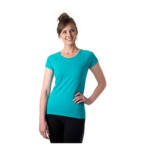 Womens Tasc Performance Victory Crew Short Sleeve Technical Tops - Baltic XS