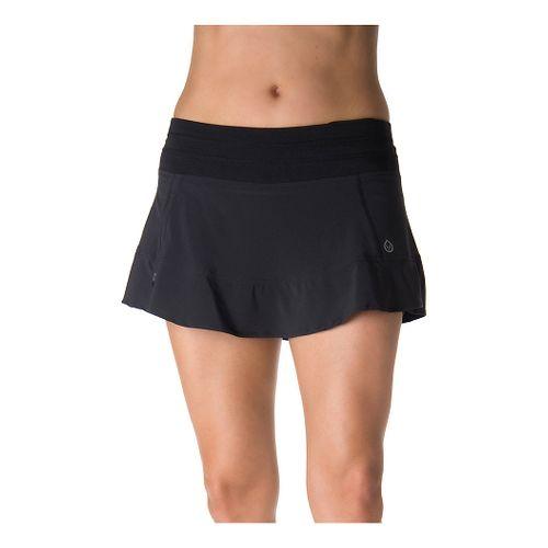Womens Tasc Performance Rhythm Skorts Fitness Skirts - Black L