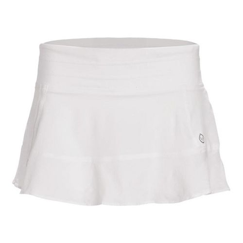 Womens Tasc Performance Rhythm Skorts Fitness Skirts - White/White L