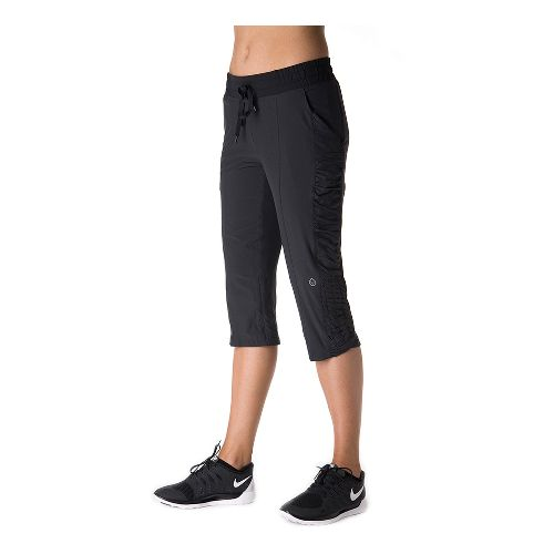 Womens Tasc Performance District Capri Pants - Black XS