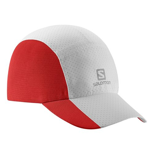Salomon XT Compact Cap Headwear - White/Red