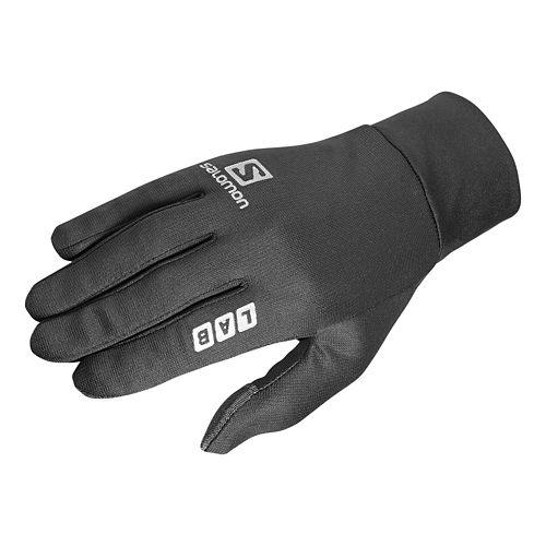 Salomon S-Lab Running Gloves Handwear - Black XXS