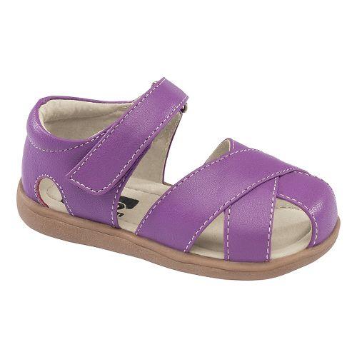 Kids See Kai Run Shauna Sandals Shoe - Purple 8