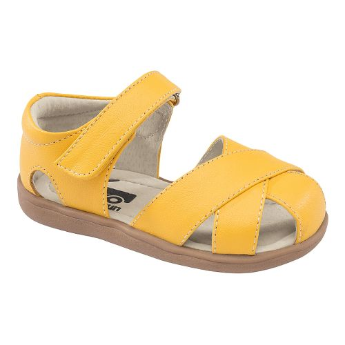 Kids See Kai Run Shauna Sandals Shoe - Yellow 4