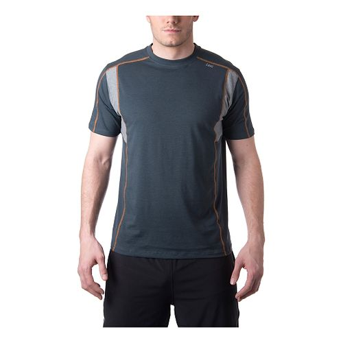 Mens Tasc Performance Charge T Short Sleeve Technical Tops - Gunmetal/HeatherGrey XL