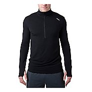 Mens Tasc Performance Compass Merino Long Sleeve Half Zip Technical Tops
