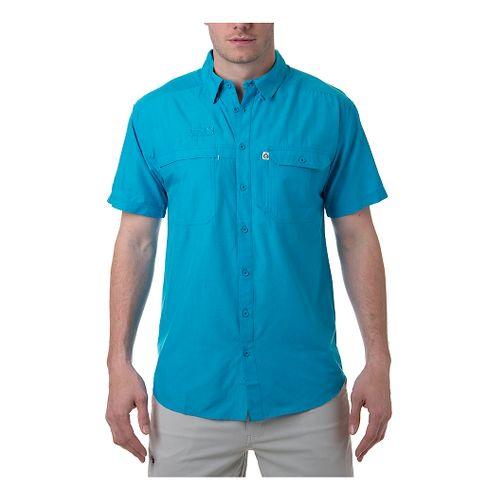 Mens Tasc Performance Ramble Shirt Short Sleeve Technical Tops - Mt. Lake L