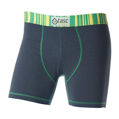 Mens Tasc PerformanceTouch Boxer Brief Underwear Bottoms - Gunmetal/Island L