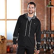 Mens Road Runner Sports Glow Rider Outerwear Jacket - Black XL