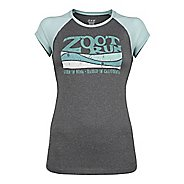 Womens Zoot Run Sunset Graphic Tee Short Sleeve Technical Tops