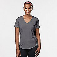 Womens R-Gear Finish First Short Sleeve Technical Tops - Grey Mist M