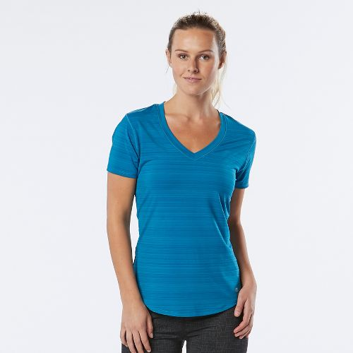 Womens R-Gear Finish First Short Sleeve Technical Tops - Marina XL