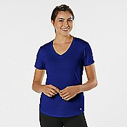 Womens Road Runner Sports Finish First Short Sleeve Technical Tops